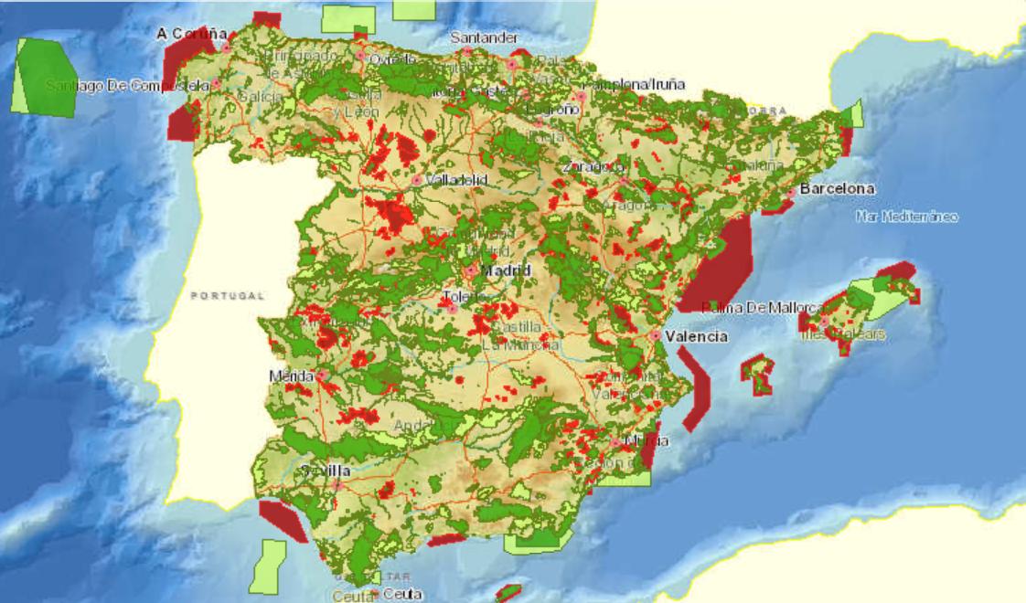Sistema de información del banco de datos de la naturaleza