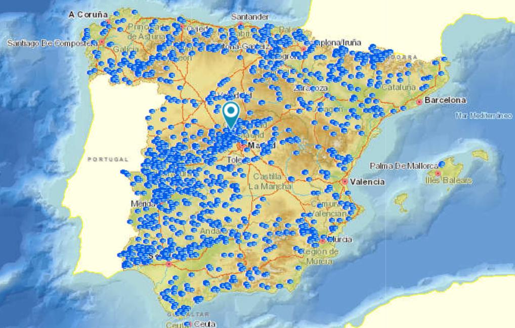 Sistema nacional de cartografía de zonas inundables – inventario de presas y embalses
