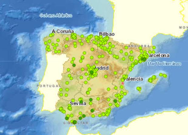 Sistema geográfico de la calidad del aire