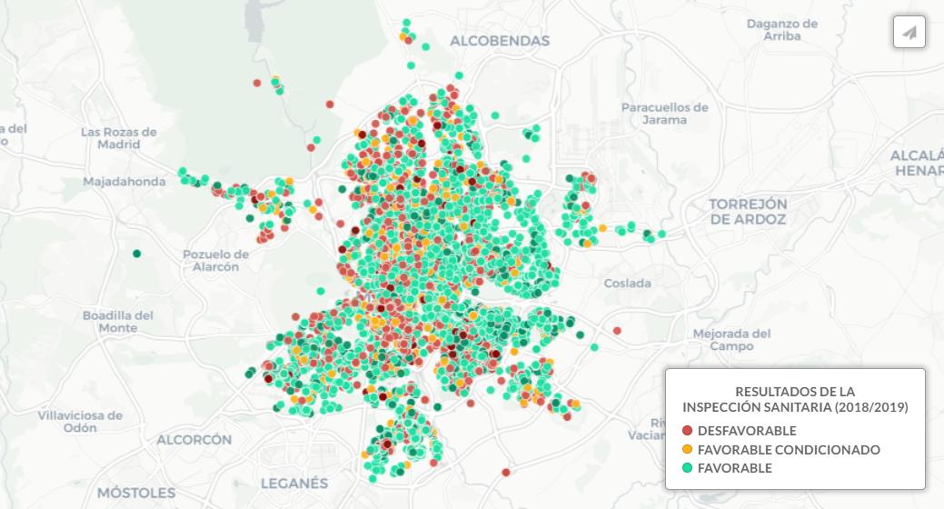 ¿A cuánto está tu pueblo de un hospital o una escuela? Un mapa del contraste entre campo y ciudad