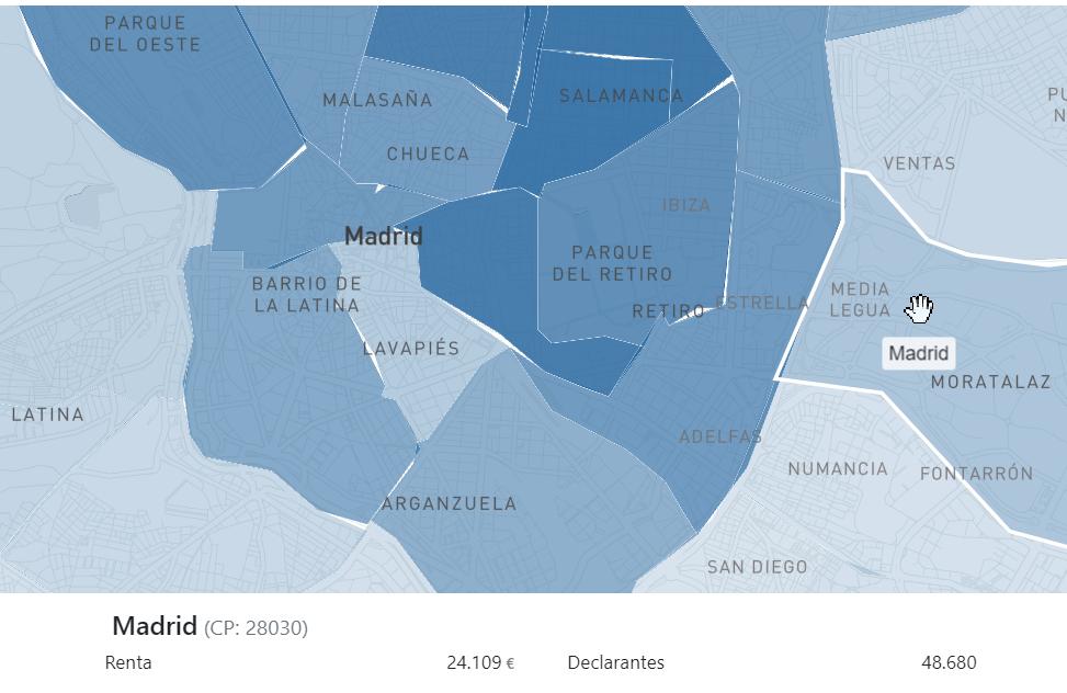 La desigualdad va por código postal: el mapa de 33 ciudades, barrio a barrio