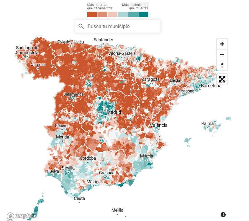 Más muertes que nacimientos en la Castilla-La Mancha 'vaciada'
