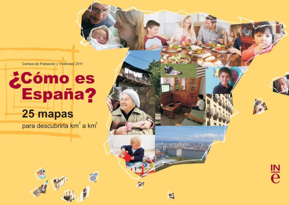 25 mapas de España