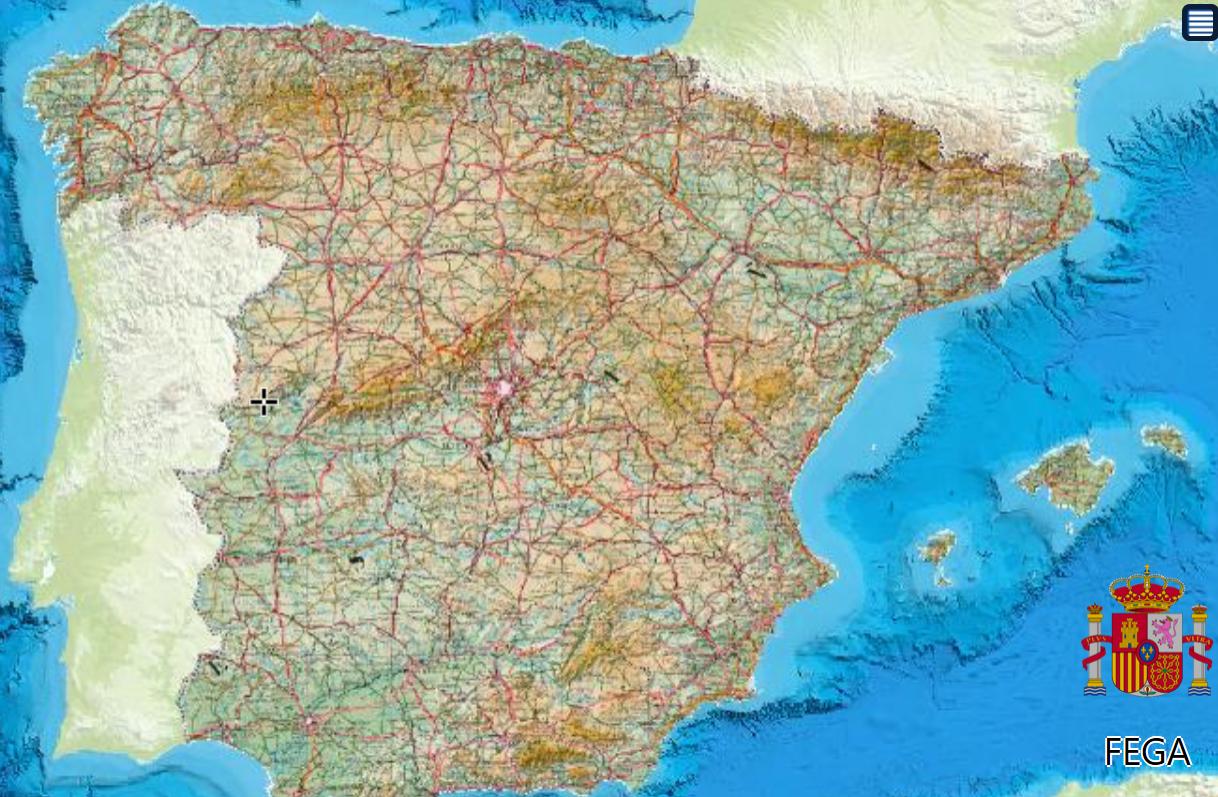 Sistema geográfico nacional de parcelas agrícolas